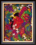 Secret Paradise Framed Giclee Print by Rick Sharp
