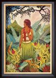Hawaii Nei Print by Don Blanding