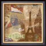 Destination, Europe Prints by Tom Frazier