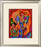 Les Flamencas Print by B. Ingrid