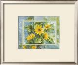 Flowers of Sun Art by Martina Reimann