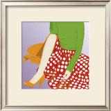 Polka Skirt Art by  Puntoos