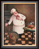 Turkey Chef I Prints by T. C. Chiu