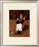 Violinist with Champagne Posters by Guy Buffet