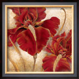 Red Iris Prints by Richard Henson