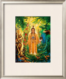 Divine Grandmother Framed Giclee Print by David Rico