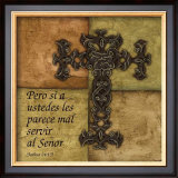Tuscan Cross I, Pero Si Prints by Debbie DeWitt