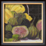 Figs I Poster by Silvia Rutledge