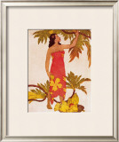 Breadfruit Framed Giclee Print by John Kelly