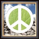 Green Peace Print by Jenny Kraft