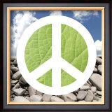 Green Peace Print by Jenny Kraft