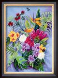 Island Floral Prints by Warren Rapozo