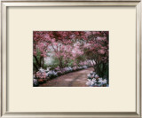 Azalea Walk Prints by Diane Romanello