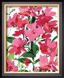 Pink Border Beauty Prints by Martha Collins