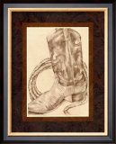 Sepia Boots I Posters by Jennifer Goldberger