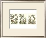 Oriental Garden Prints