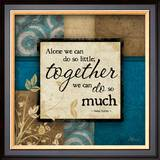 Together Poster by Jennifer Pugh