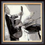 La Guitare Poster by Bernard Ott