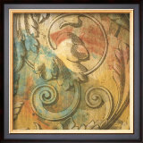 Acanthus Scroll II Print by Jonde Northcutt
