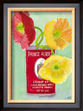 Flowers in a Red Can Prints by Robbin Gourley