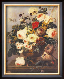 Roses, Carnations, Convolvuli Posters by Johann Dreschler