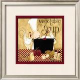 Kitchen Favorites: Vegetable Soup Art by Dan Dipaolo