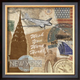 Destination, New York Posters by Tom Frazier