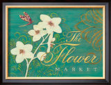 The Flower Market Prints by Angela Staehling