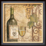 Wine Poster by John Zaccheo