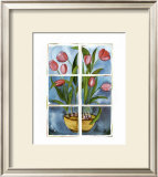 Tulips at the Window Art by Sonia P.