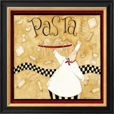 Kitchen Favorites: Pasta Poster by Dan Dipaolo