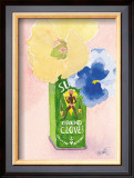 Flowers in a Green Can Posters by Robbin Gourley