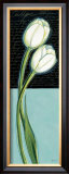 White Tulip Prints by Chantal Godbout