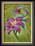 Lily Framed Giclee Print by Marcella Rose