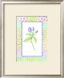 Patchwork Botanical II Poster by Aldana