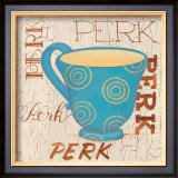 Morning Coffee III Prints by Pamela Smith