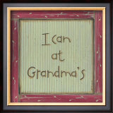 I Can at Grandma's Prints by Karen Tribett