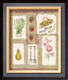 Gardening Pleasures I Prints by Gillian Fullard