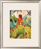 Hawaii Nei Framed Giclee Print by Don Blanding