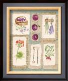 Gardening Pleasures III Art by Gillian Fullard
