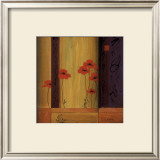 Poppy Tile I Prints by Don Li-Leger