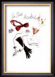 La Soiree de Cocktails Poster by  Tina