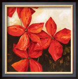 Red Passion I Prints by Robert Charon