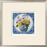 Flowers and Blue China II Prints by Walter Perugini