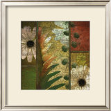 Floral Collage I Print by Pierre Fortin
