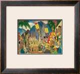 Pomp and Circumstance Framed Giclee Print by Eugene Savage