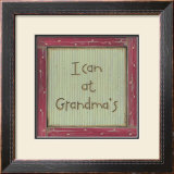 I Can at Grandma's Prints by Karen Tribett
