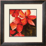 Red Passion II Print by Robert Charon