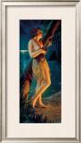 Ukulele Wahine Framed Giclee Print by Gene Pressler