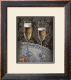 Champagne for Two Prints by Nathan Rohlander